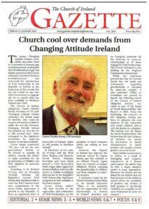 Church of Ireland Gazette: Church cool over demands from Changing Attitude Ireland